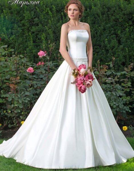 Свадебное платье напрокат Lady White Платье свадебное «Марьяна» - фото 1
