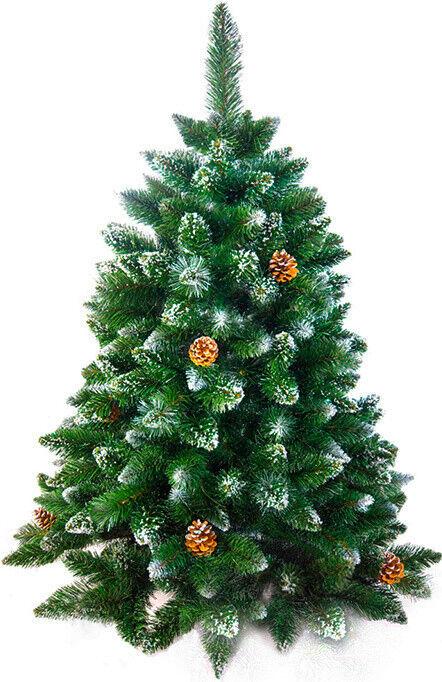 Елка и украшение Christmas Tree Сосна «LUX Снежная королева» 1.5м - фото 1