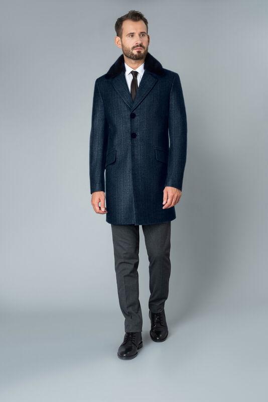 Верхняя одежда мужская Etelier Пальто мужское демисезонное 1М-9485-1 - фото 1
