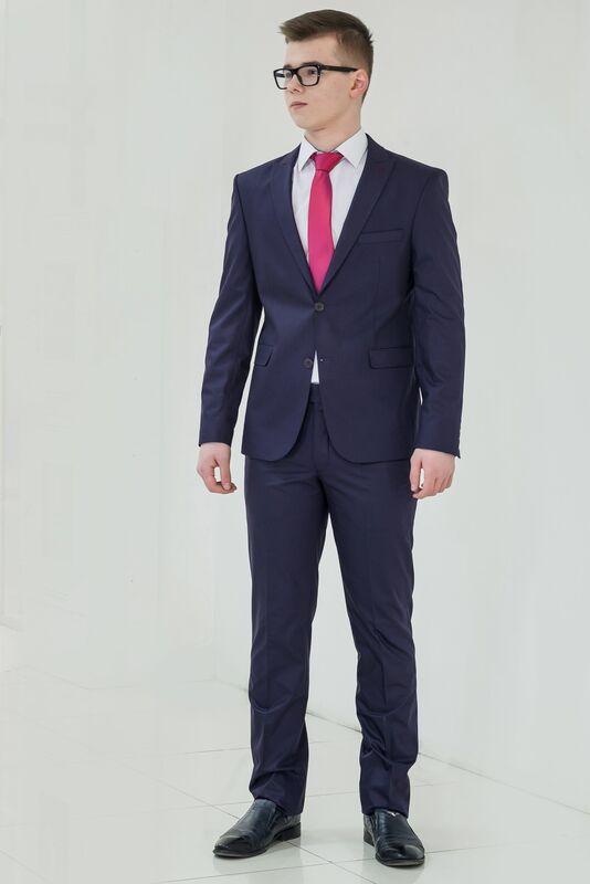 Костюм мужской AKCENT Костюм мужской Фиолетовый - фото 2