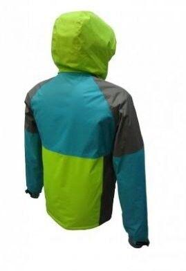 Спортивная одежда Free Flight Мужская мембранная горнолыжная куртка салатовая - фото 2
