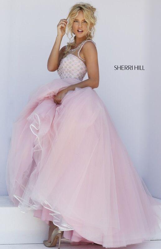 Свадебное платье напрокат Sherri Hill Платье свадебное 50008 - фото 4