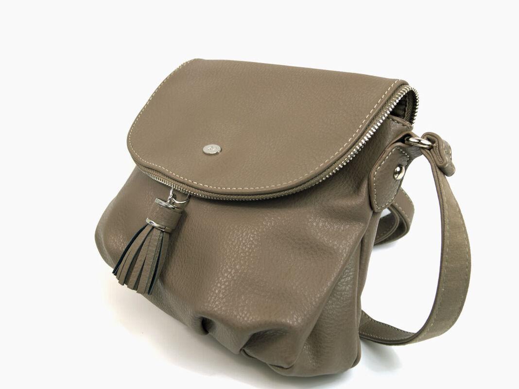 Магазин сумок David Jones Сумка женская бежевая 5540А-1 - фото 2