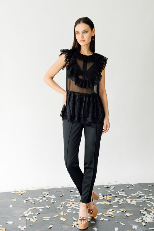 Кофта, блузка, футболка женская Burvin Блузка женская 6006 - фото 1