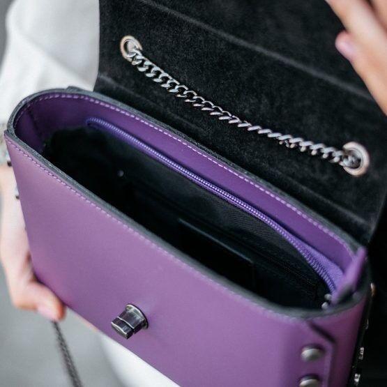 Магазин сумок Vezze Кожаная женская сумка C00517 - фото 3
