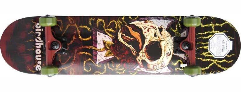 Скейтборд BIRDHOUSE Скейтборд Skull And Roses - фото 1