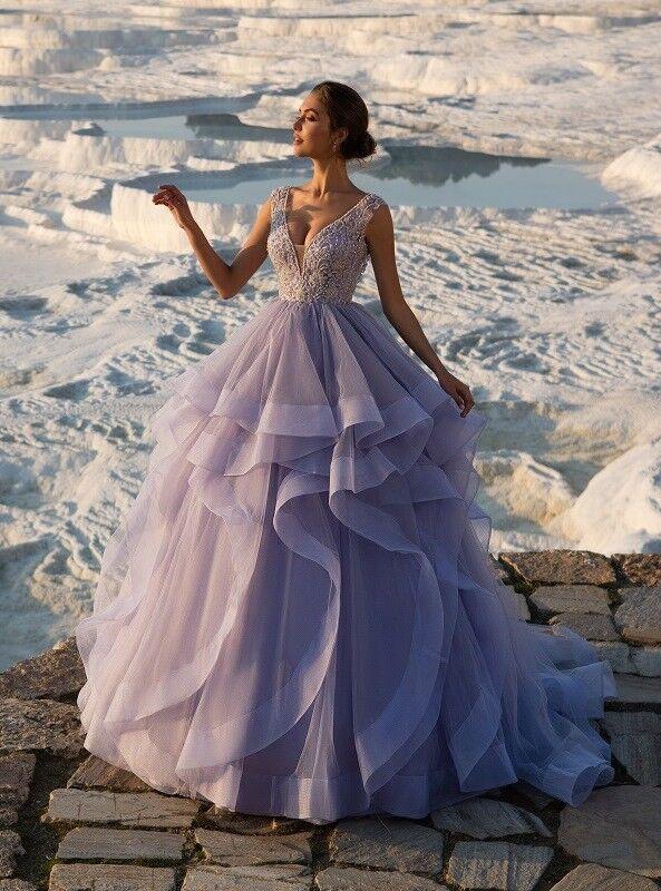 Свадебное платье напрокат ALIZA Платье свадебное «Violet» - фото 1