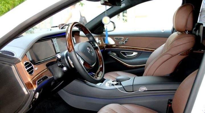 Аренда авто Mercedes-Benz S-класс W222 S500 Белый - фото 3