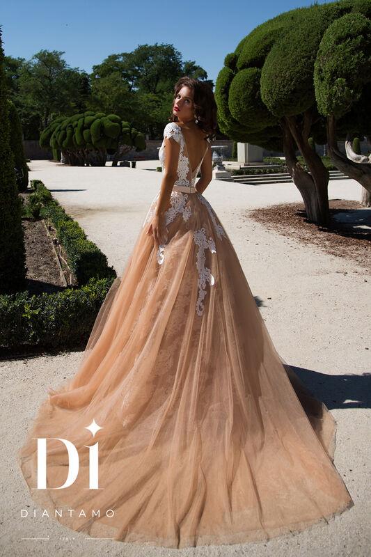 Свадебное платье напрокат Diantamo Платье свадебное Debora - фото 3