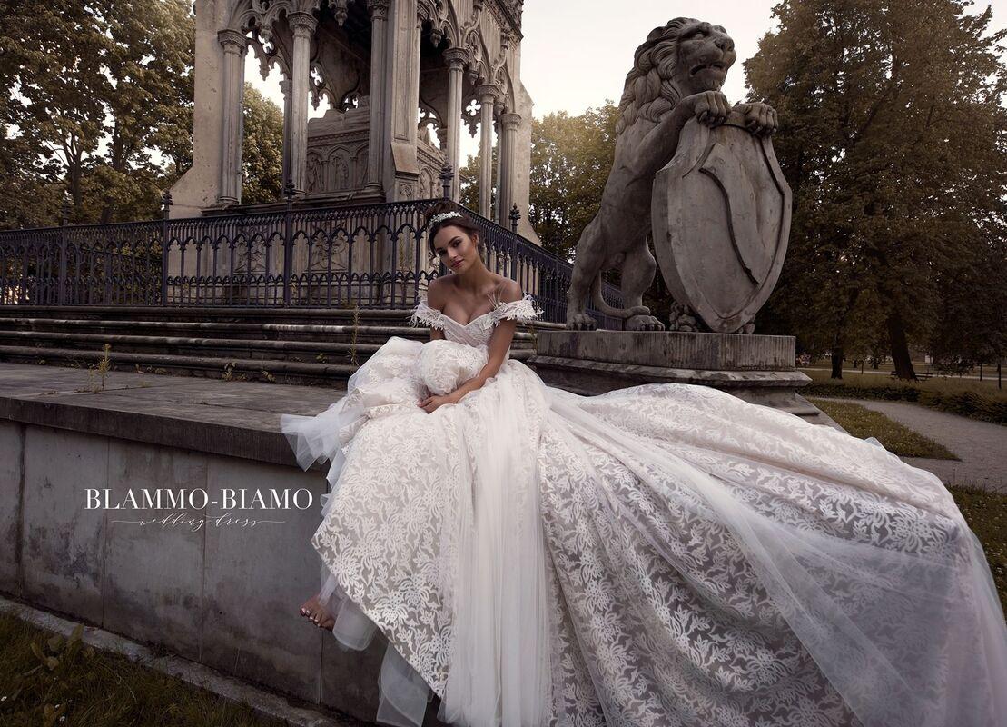 Свадебное платье напрокат Blammo-Biamo Платье свадебное The Rice  Lelei - фото 2