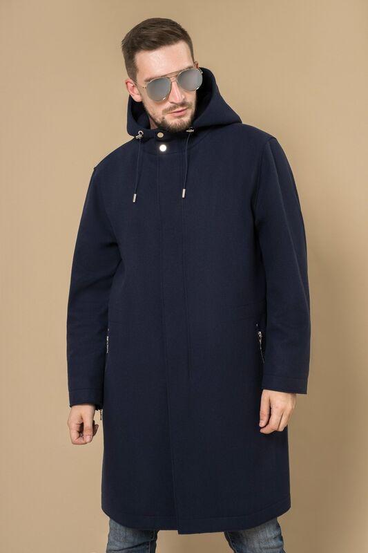 Верхняя одежда мужская Etelier Пальто мужское демисезонное 1М-8889-1 - фото 1