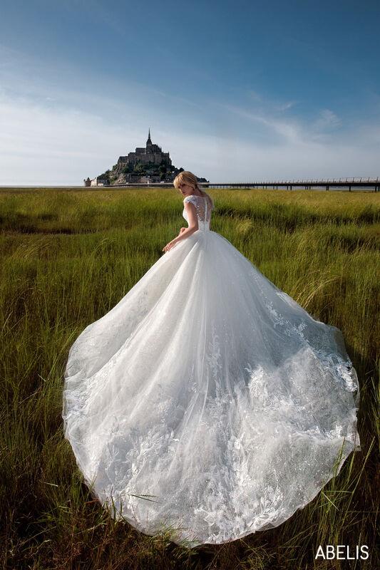 Свадебный салон Bonjour Galerie Свадебное платье ABELIS из коллекции BON VOYAGE - фото 2