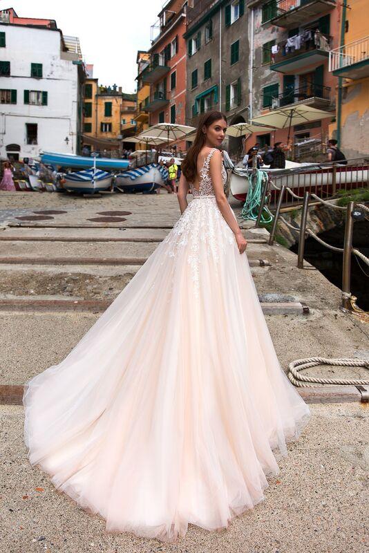 """Свадебное платье напрокат ALIZA свадебное платье """"Sensuelly"""" - фото 2"""