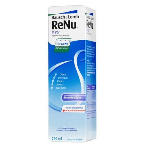 Уход за линзами Bausch & Lomb Раствор для линз ReNu MPS, 240 мл - фото 1