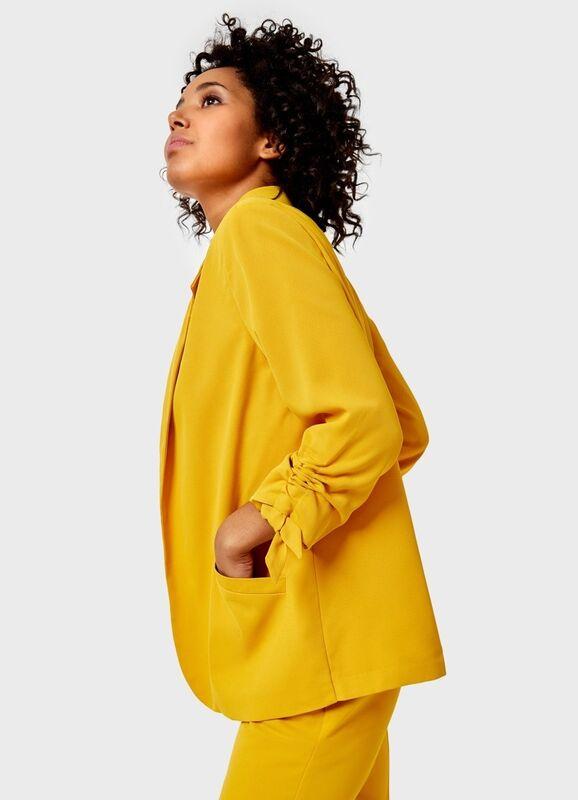 Пиджак, жакет, жилетка женские O'stin Жакет без застёжки LB4U81-34 - фото 3