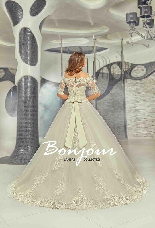 Свадебный салон Bonjour Свадебное платье «Iren» из коллекции LAMBRE 2017 - фото 2
