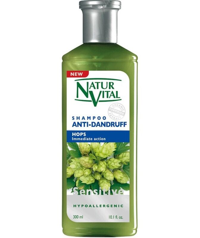 Уход за волосами Natur Vital Шампунь для волос против перхоти Хмель Hair Shampoo Hops - Antidandruff - фото 1