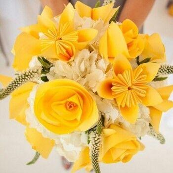 Магазин цветов Ветка сакуры Свадебный букет № 66 - фото 1