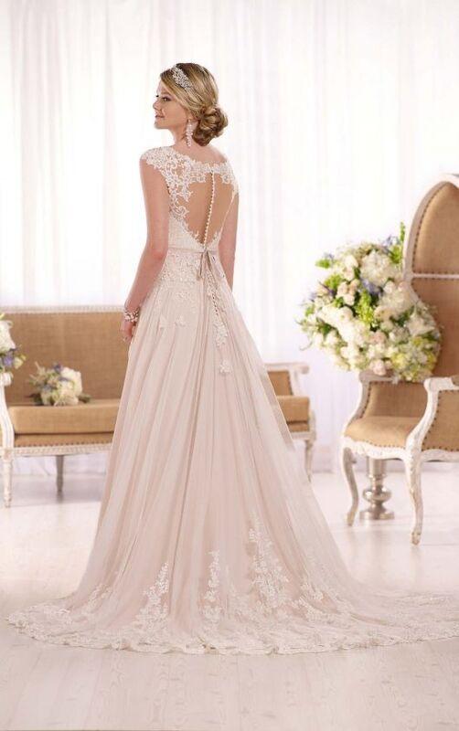 Свадебное платье напрокат Essense of Australia Платье свадебное D1999 - фото 2