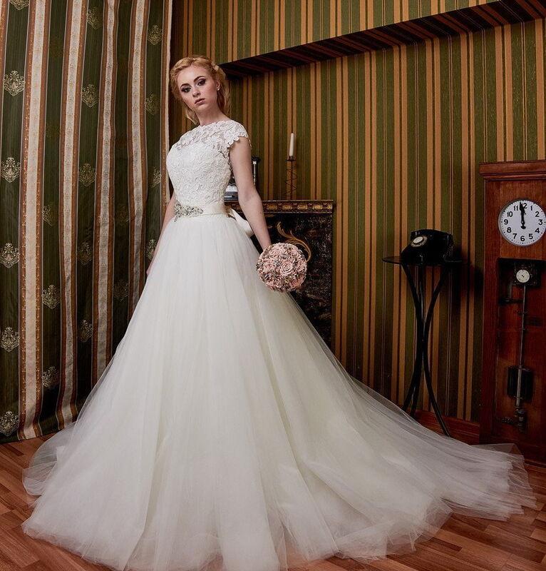 Свадебное платье напрокат ALIZA Свадебное платье «Ameli» Diva Vivien - фото 1
