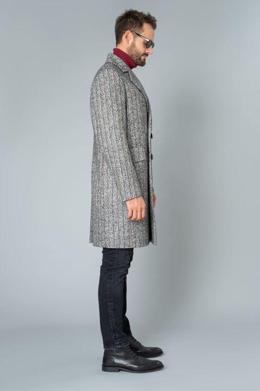 Верхняя одежда мужская Etelier Пальто мужское демисезонное 1М-9423-1 - фото 2
