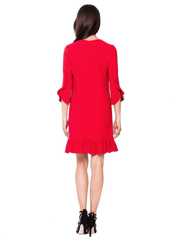Платье женское L'AF Платье Arize 39YL (красное) - фото 2