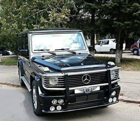 Прокат авто Mercedes-Benz Gelandewagen Black - фото 2