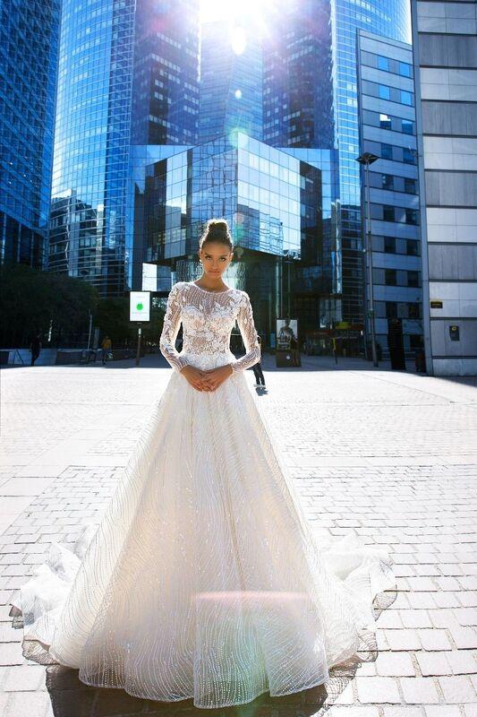 Свадебное платье напрокат Crystal Vilma - фото 1
