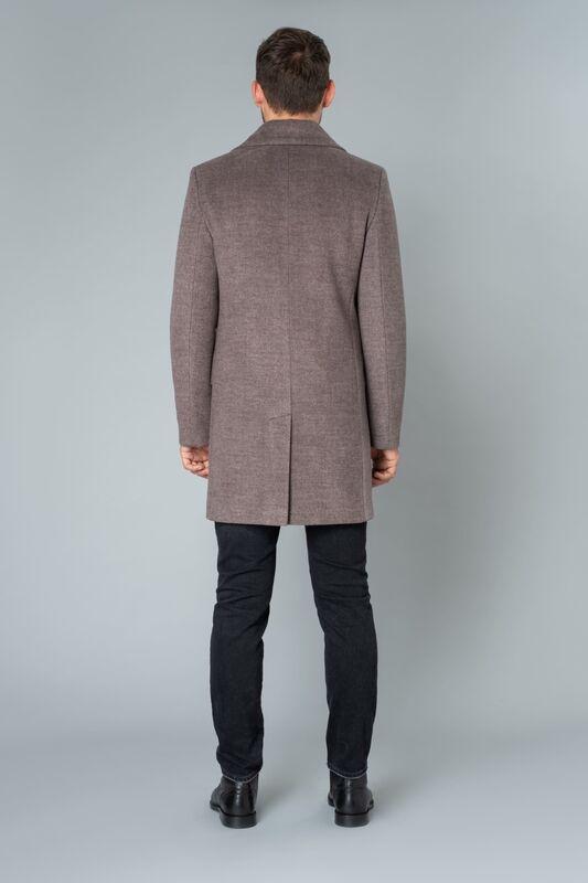 Верхняя одежда мужская Etelier Пальто мужское утепленное 6М-9093-1 - фото 4