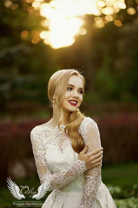 Свадебный салон ALIZA Платье свадебное «Грация» Soffito - фото 5