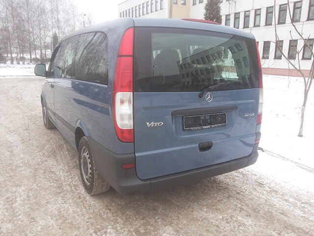 Прокат авто Mercedes-Benz Vito Long АКПП - фото 3