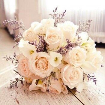 Магазин цветов Ветка сакуры Свадебный букет № 61 - фото 1