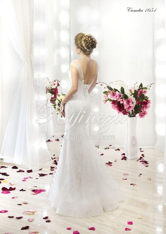 Свадебное платье напрокат Rafineza Свадебное платье Camelia - фото 2