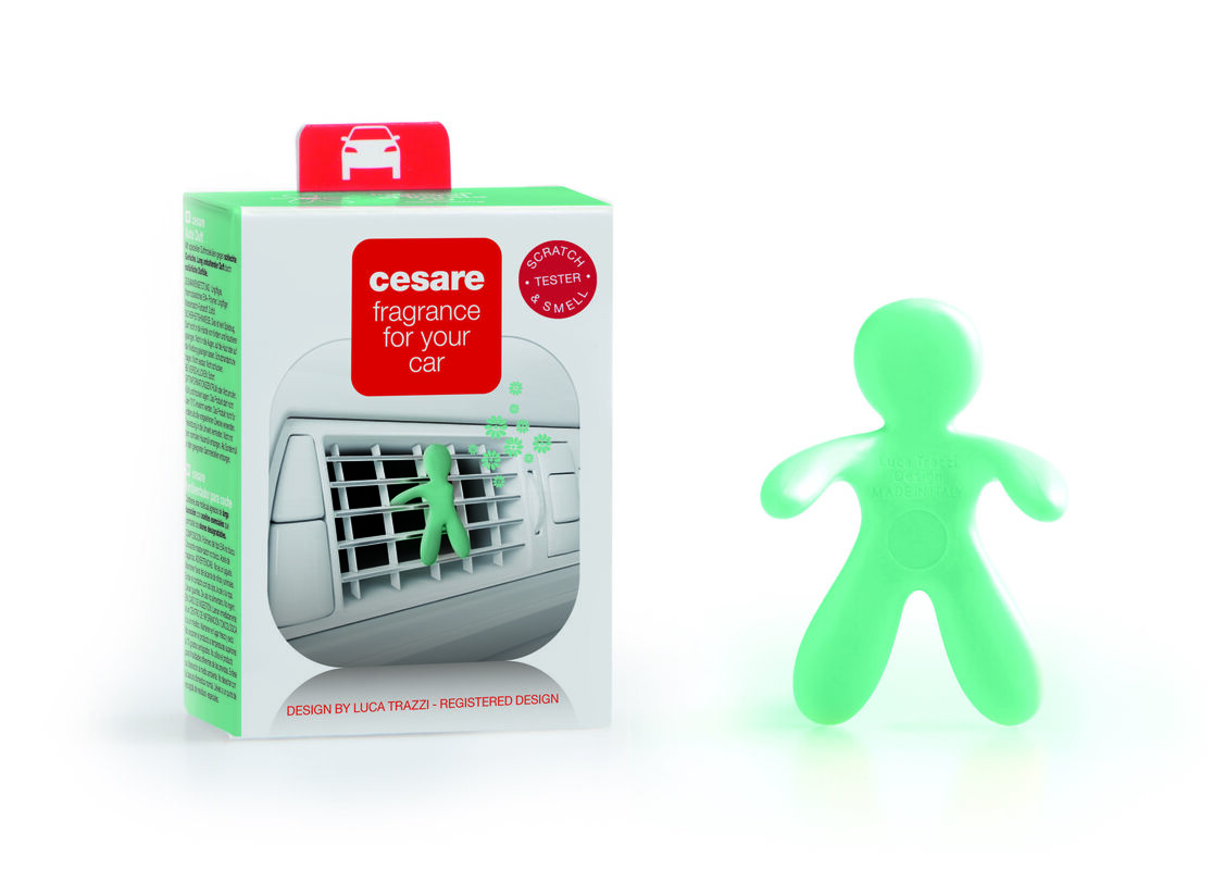Подарок на Новый год Mr & Mrs Fragrance Ароматизатор воздуха для автомобиля Cesare - фото 9
