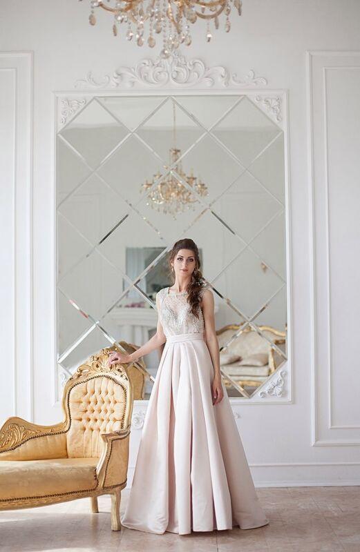 Свадебное платье напрокат La Festa Вечернее платье 115-3 - фото 3