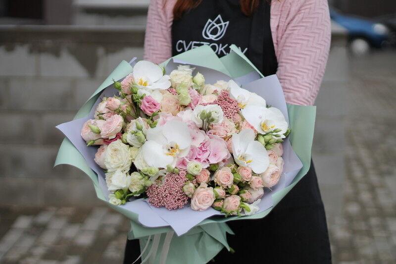 Магазин цветов Cvetok.by Букет «Рассвет» - фото 2