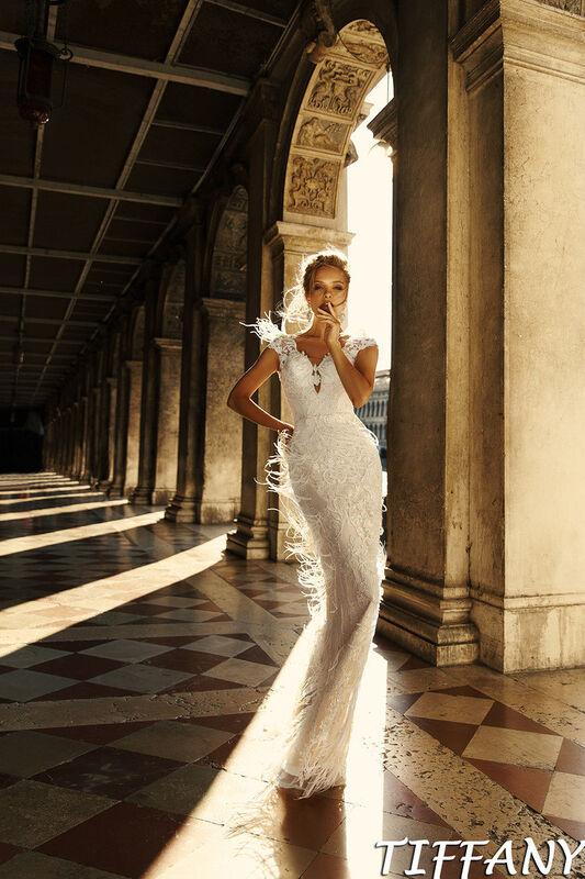 Свадебный салон Bonjour Galerie Свадебное платье Tiffani из коллекции La Douceur - фото 2