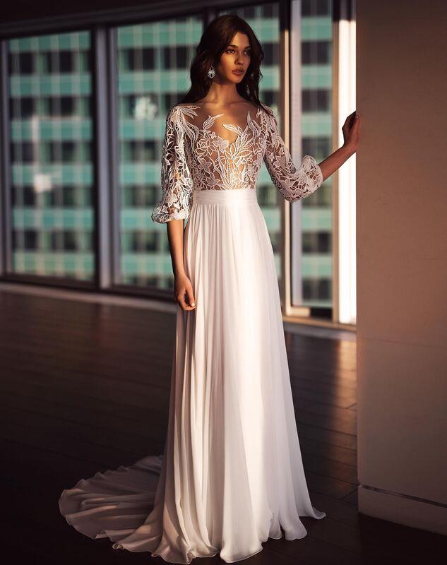 Свадебное платье напрокат Natalia Romanova Свадебное платье  Sheyla - фото 2