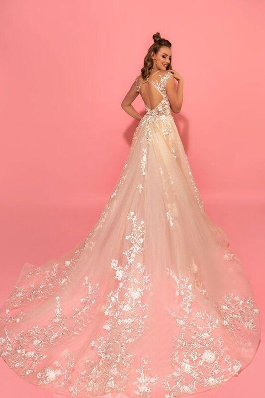 Свадебное платье напрокат Eva Lendel Платье свадебное Hizer - фото 2