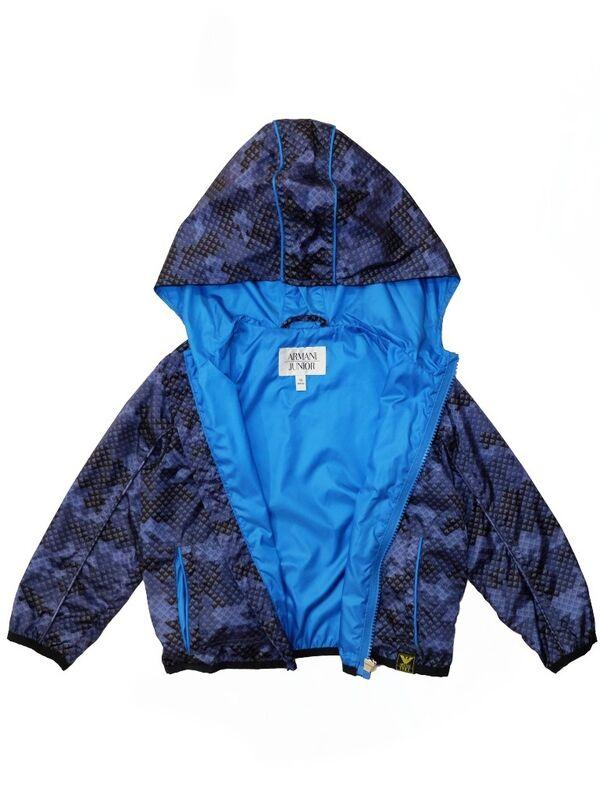 Верхняя одежда детская Armani Junior Куртка для мальчика CXL06 AZ - фото 2