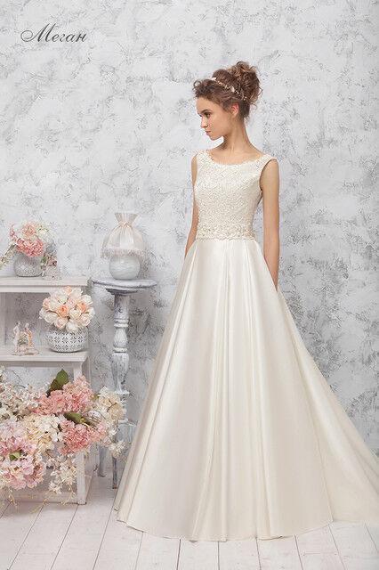 Свадебное платье напрокат Vintage Платье свадебное «Меган» - фото 1