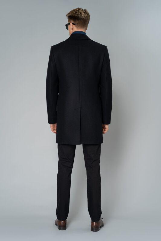 Верхняя одежда мужская Etelier Пальто мужское демисезонное 1М-9130-1 - фото 8