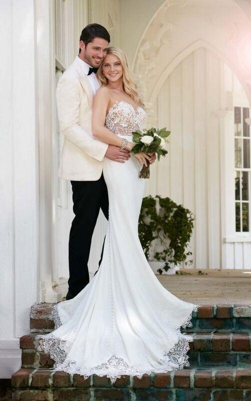 Свадебное платье напрокат Essense of Australia Платье свадебное 775 - фото 5
