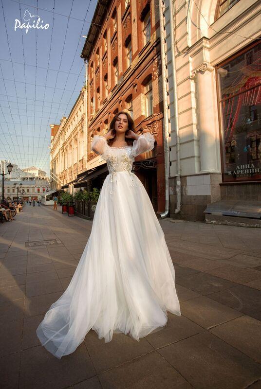 Свадебный салон Papilio Свадебное платье 11947 - фото 1