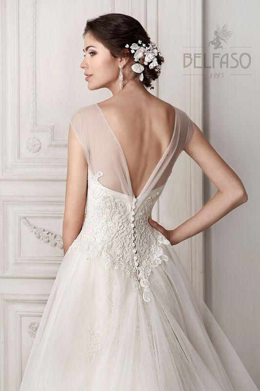 Свадебное платье напрокат Belfaso Платье свадебное Doroti - фото 4