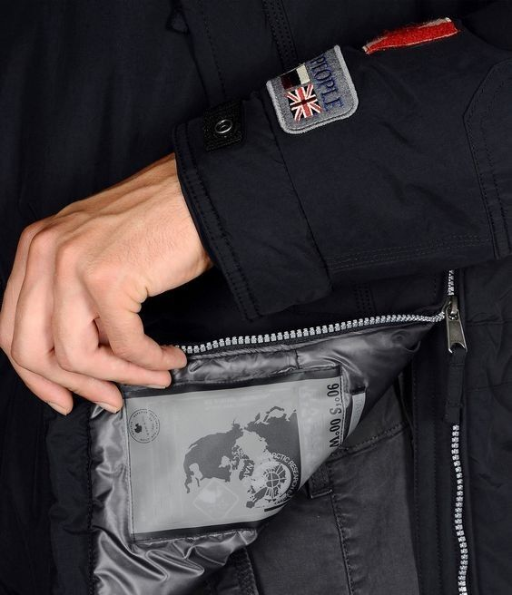 Верхняя одежда мужская Napapijri Куртка мужская Skidoo Expedition N0Y9IM176 - фото 5