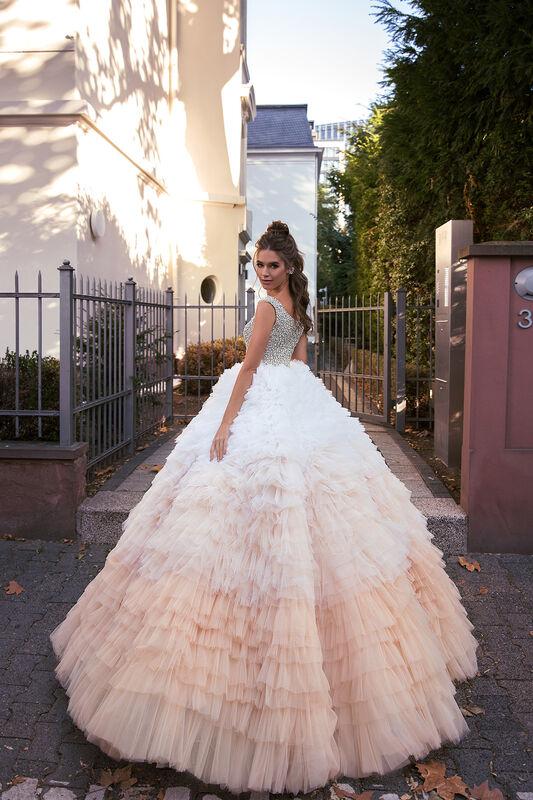 Свадебное платье напрокат Vanilla room Платье свадебное Луна - фото 4