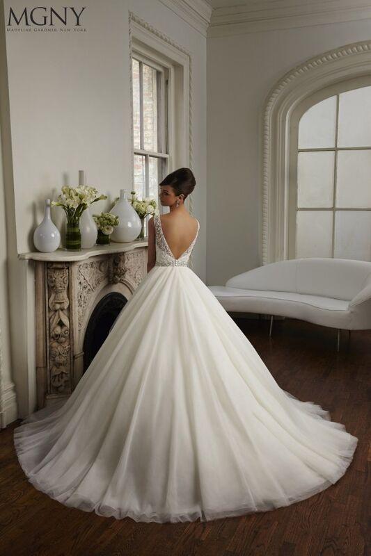 Свадебный салон Madeline Gardner New York Свадебное платье Cara 51029 - фото 2