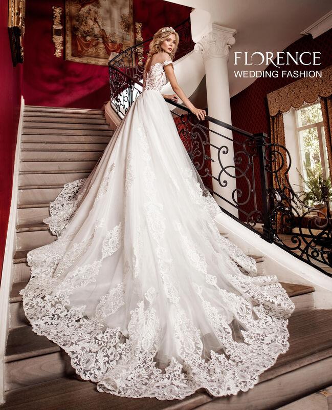 Свадебное платье напрокат Sophia Tolli Платье свадебное 1727 Barolo / Бароло Florence - фото 1