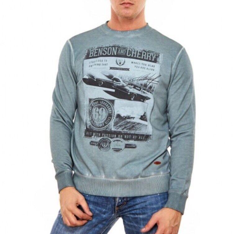 Кофта, рубашка, футболка мужская Benson Cherry Джемпер Sampao - фото 1